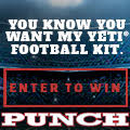 Punch Yeti Football
