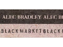 Alec Bradley Black Market, Churchill