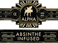 Alpha Absinthe Infused Connecticut, Belicoso (box-pressed)
