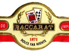 Baccarat The Game Dominican, Luchadores (Long Corona)