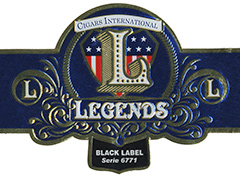 CI Legends Legends La Aurora - Black Label, Grand Corona