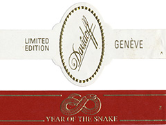 Davidoff Limited Edition, 2013 Year of the Snake (Churchill)