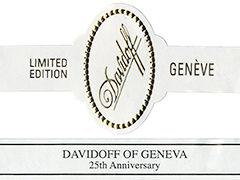 Davidoff of Geneva 25th Anniversary, Robusto Gordo