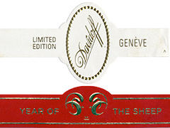 Davidoff Limited Edition, 2015 Year of the Sheep (Torpedo)