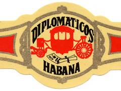 Diplomaticos (Cuba) Regular Production, No. 2 Torpedo
