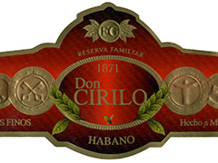 Don Cirilo by Felipe Gregorio Habano, Reserva Familiar No. 2 (Torpedo)
