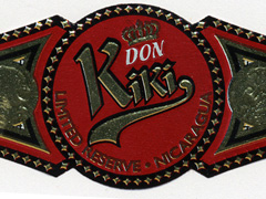 Don Kiki Limited Reserve Red Label, Torpedo