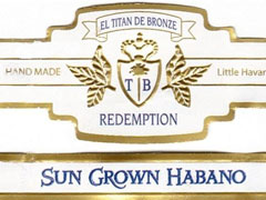 El Titan de Bronze Titan Redemption Sun Grown Habano, Robusto