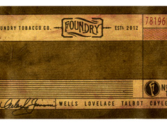 Foundry by General Cigar, No. 2 Lovelace (Toro Grande)