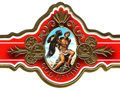 God of Fire by Arturo Fuente 2007, Toro by Don Carlos