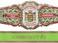 Gran Habano Connecticut #1, Rothchild (Short Robusto)