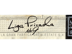 Liga Privada by Drew Estate No. 9, Parejo Robusto