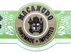Macanudo Cafe, Duke of York (Robusto)