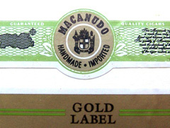 Macanudo Gold Label, Duke of York (Robusto)