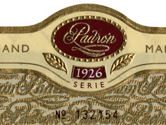 Padron, Serie 1926 Natural