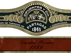 Partagas Limited Reserve Decadas 1999, No. 4 (Double Corona)
