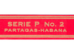 Partagas (Cuba) Regular Production, Serie P No. 2