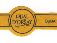 Quai D'Orsay (Cuba) Regular Production, Coronas Claro Claro