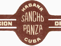 Sancho Panza (Cuba) Regular Production, Coronas