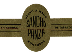 Sancho Panza Double Maduro, Quixote (Short Robusto)