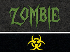 Viaje Zombie Green Biohazard, Figurado (box pressed)